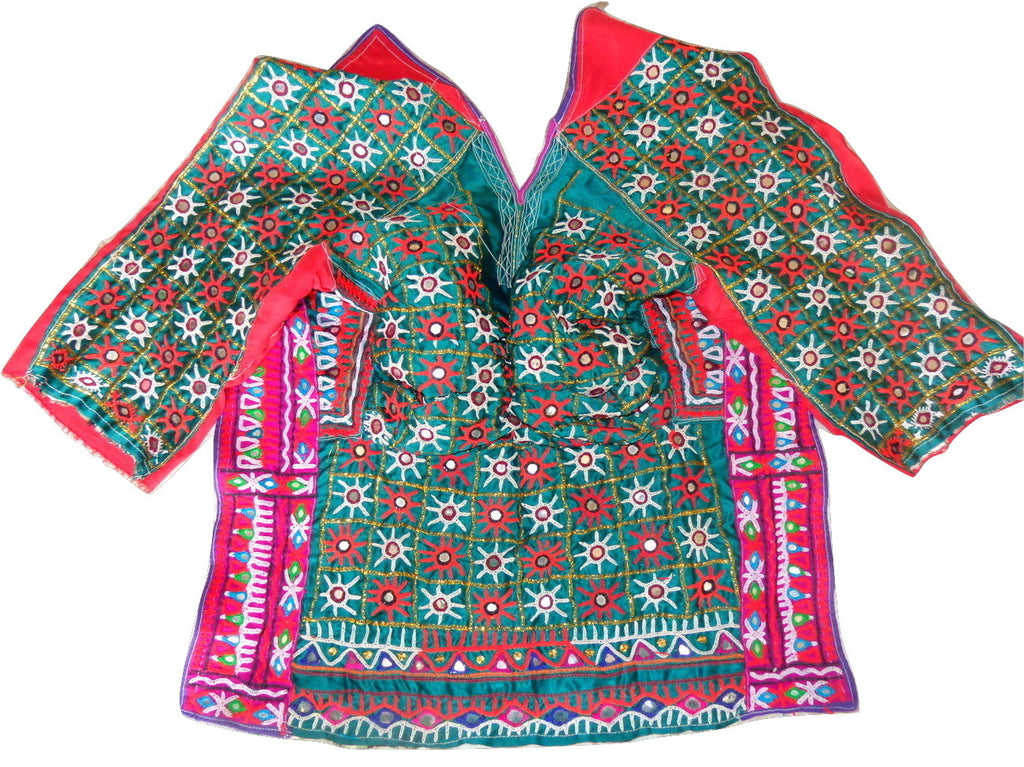 Gujarati Traditional Embroidery Blouse Top