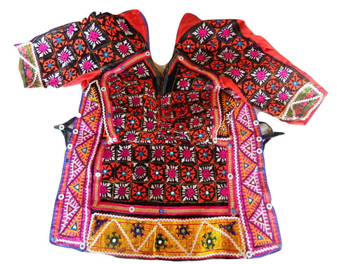 Kutch Banjara Backless Choli Blouse