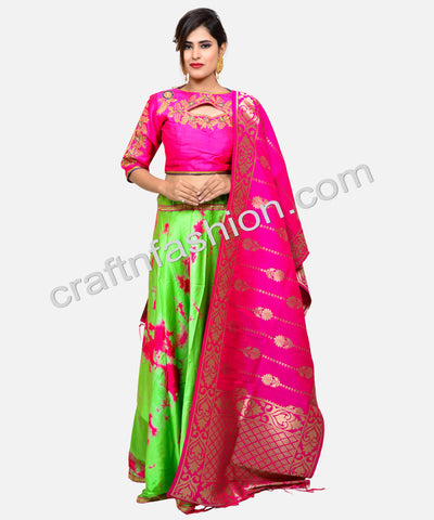 Fashion Wear Designer Silk Lehenga Choli