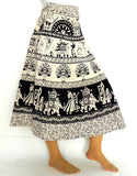 Indian Cotton Wrap Around Skirt