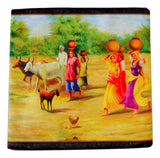 Vintage Gujri Printed Cushion Cover