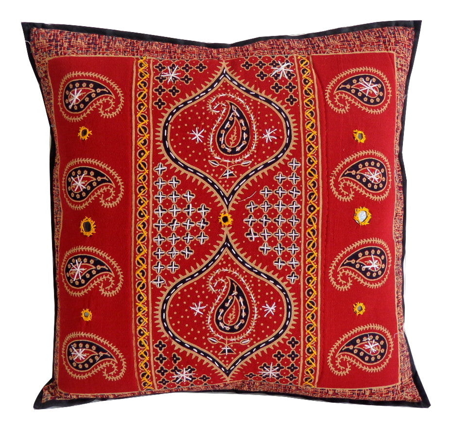 Red Exclusive Cushion Cover (2PC)