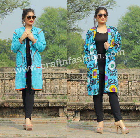 Indian Fusion Winter Fashion Jacket