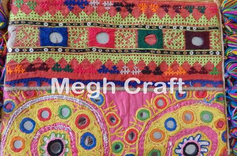 Banjara Mirror work wallet
