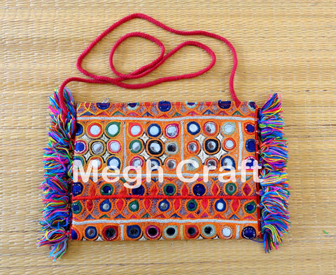 Colourful HIPPIE POUCH BAG