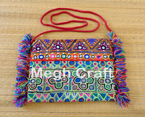 Traditional Mirror Work Wallet