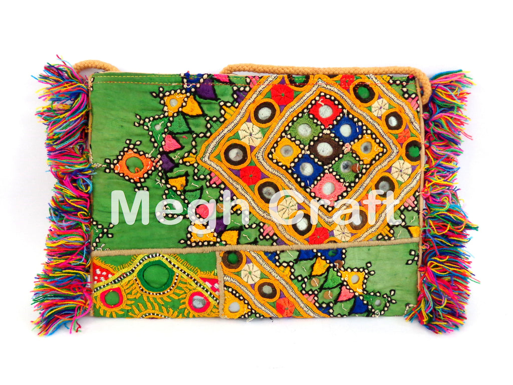 Tribal Mirror Work wallet