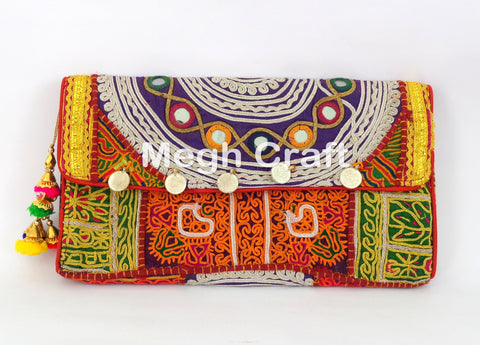 Vintage Tribal Banjara Clutch Purse