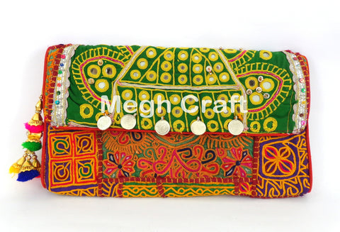 Banjara Gypsy Coin Clutch
