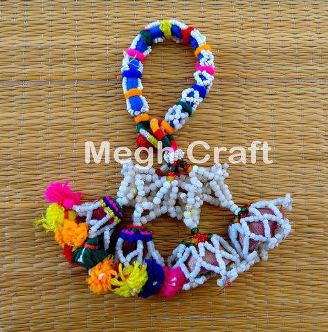 Multi Colored Pom Pom Bracelets