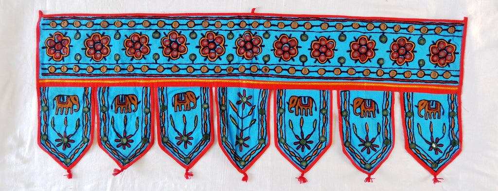 Gujarati Embroidery Door Hanging Toran