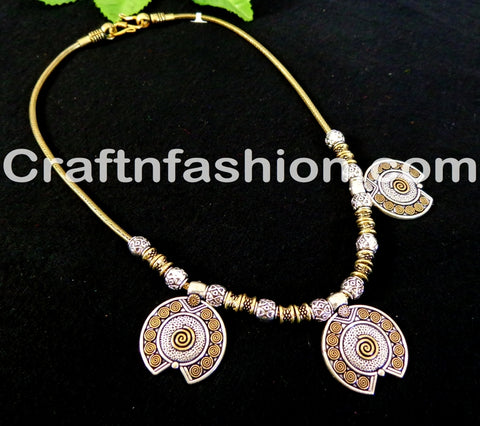 Beautiful Golden silver Pendant