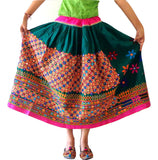 Old Mirror Work Banjara Skirt