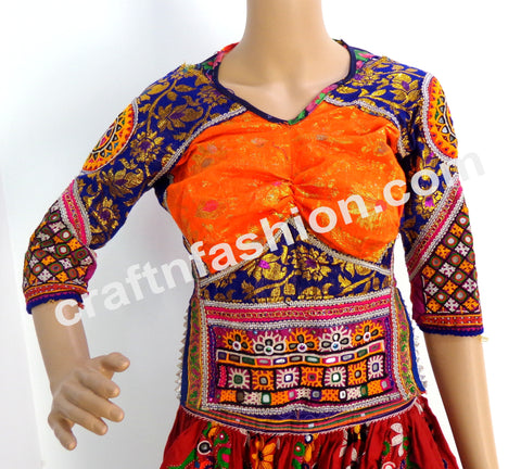 Rabari Work Traditional Wear Banjara Blouse