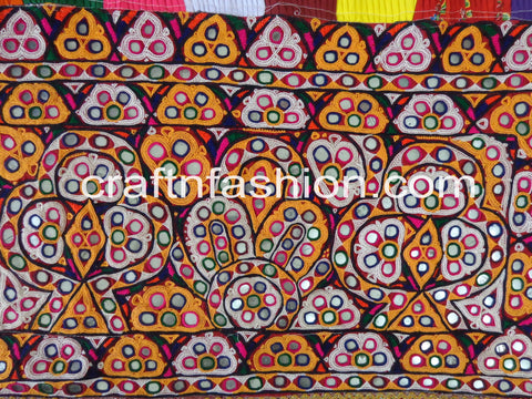 Mirror Work Kutch Embroidery Home Decor Toran