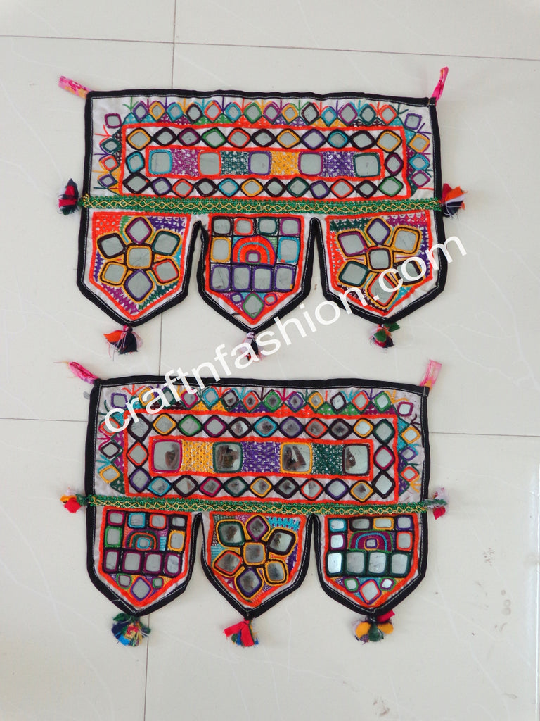 Home Decor Vintage Boho Wall Hanging - 2 Pieces