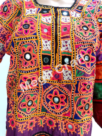 Afghani Hand Embroidered Kuchi Tunic
