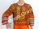 Afghani Kuchi Mirror Work Tunic