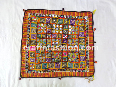 Kutch Mirror Work Wall Decor Chakla
