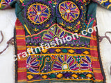 Kutchi Mirror Work Embroidery Trendy Blouse