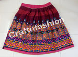 Banjara Style Vintage Embroidered Skirt.