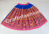 Indian Traditional Gypsy Embroidered Skirt.