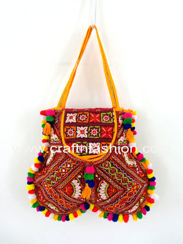 Women's Shoulder Bag - Boho Hippie Tote Bag