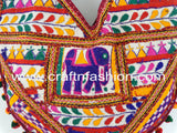 Multicolored Gamthi Hand Embroidered Bag