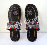 Indian Woman Kutch Chappal