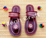 Handmade kutch  leather chappal