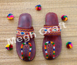Traditional Kutch Embroidered Chappal
