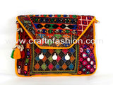Women's Afghani Style Coin Clutch Purse