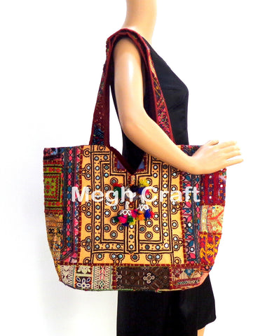 Kutch Styled Ethnic Tote Bag