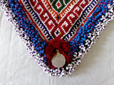 Beaded Vintage Tribal Afghani Patch