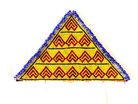 Boho Hippie Tribal Gypsy Banjara Triangle Patch