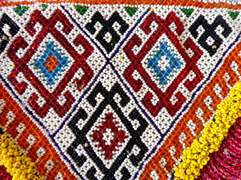 Tribal Banjara Beaded Ethnic Kuchi Patch
