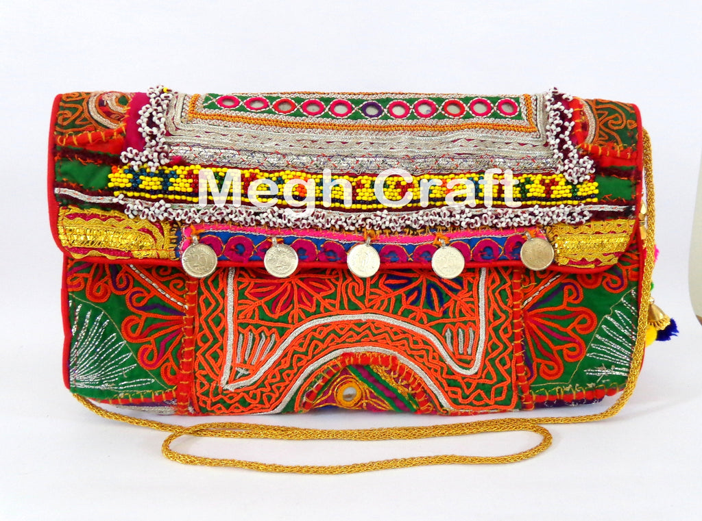 Tribal kutch Banjara clutch Purse