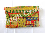 Wholesale Lot : Vintage Afghan Kuchi Coin clutch- Tribal Handmade Banjara Coin Clutch-5 Pieces