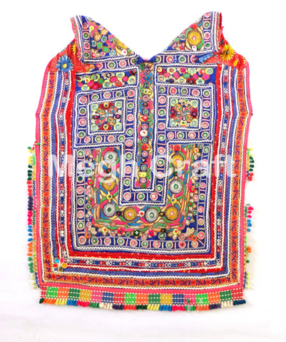 TRIBAL BANJARA YOKE NECK