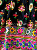 Designer Gujarati Hand Embroidered Chaniya Choli
