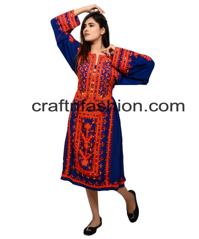 Traditional Bohemian Handmade Dress