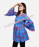 Bohemian Gypsy Cotton Short Kurti