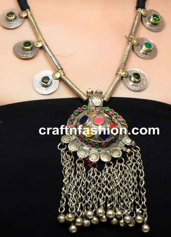 Boho Gypsy Belly Dance Kuchi Jewelry