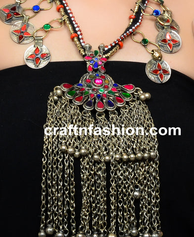Urban Style Stone Beaded Kuchi Jewelry