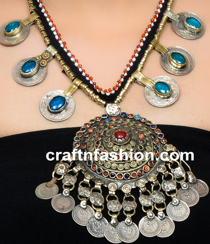 Ladies Fashion Afghani Coin Jewelry