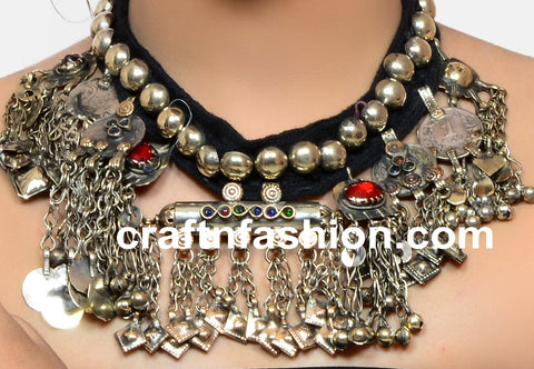Bohemian Gypsy Traditional Afghani Jewelry