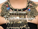 Original Afghani German Silver Necklace