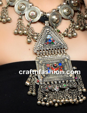 Belly Dance Wear German Silver Jewelry