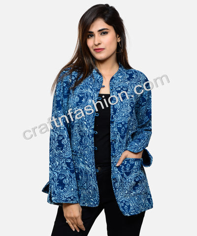 Winter Fashion Reversible Quilted Jacket