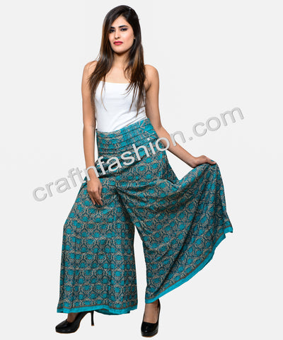 Boho Gypsy Belly Trouser Skirt Palazzo